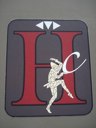 Hotel des Comedies: Hotel logo