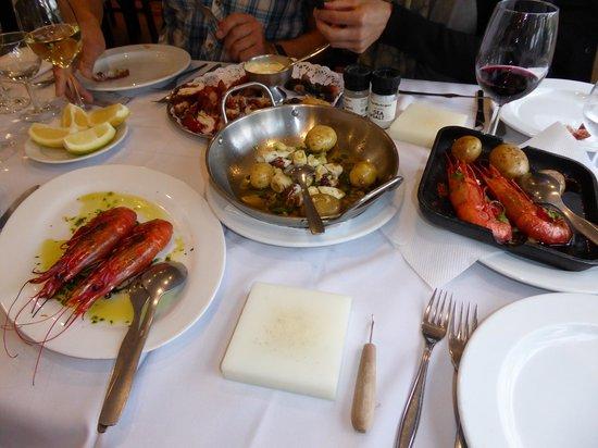 Restaurante Mar do Inferno : Vorspeisen-Auswahl