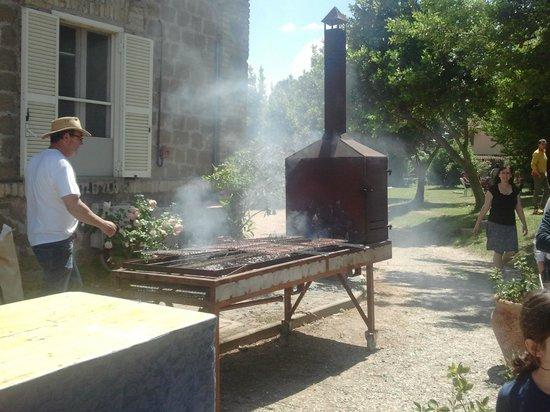 Il Marchione : Braciere sul quale hanno cotto la carne