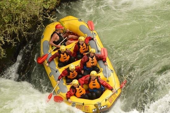 Kaitiaki Adventures: Over the falls, not the big one