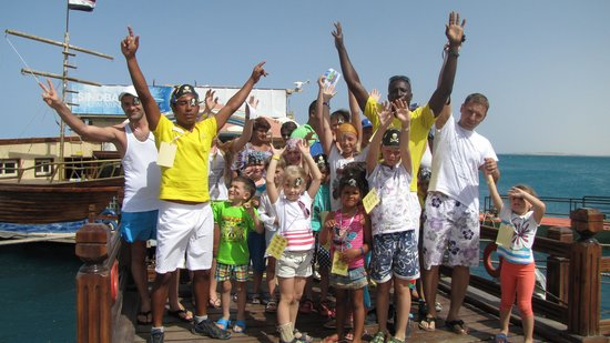 Sindbad Beach Resort : Br International kids day