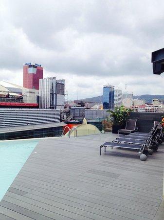 B-Hotel : Terrasse