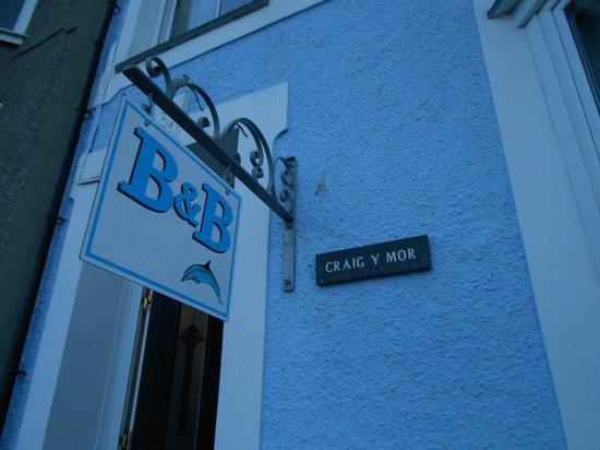 Craig Y Mor B&B: Welcome awaits