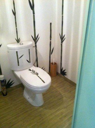 Nuit d'Ailleurs : déco toilette