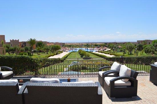 Marrakech Ryads Parc & Spa : Vue de la terasse