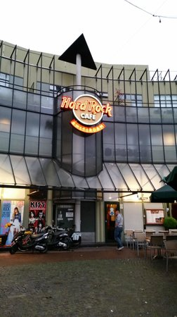 Hard Rock Cafe Amsterdam: Entrance