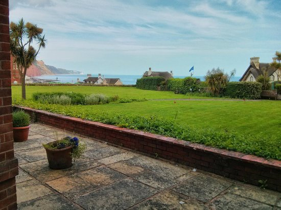Sidmouth Harbour Hotel - The Westcliff: Evening View