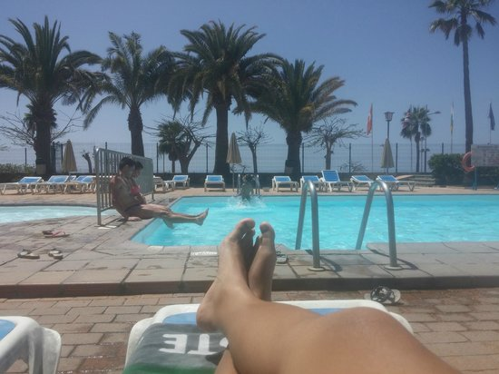 Hotel Nido del Aguila: Disfrutando del sol