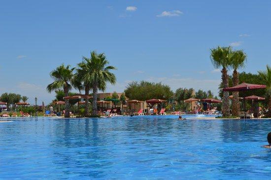 Marrakech Ryads Parc & Spa : Piscine