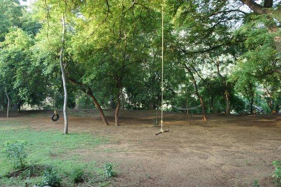 Galibore Nature Camp: the play area