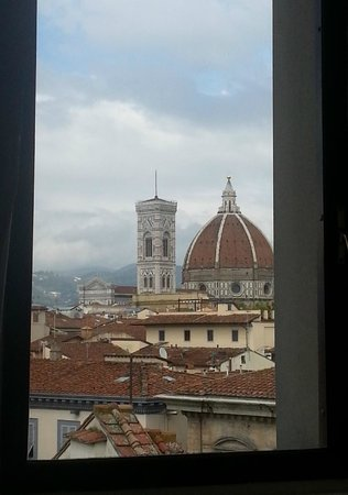 Antica Torre di Via Tornabuoni: View from our room (504)