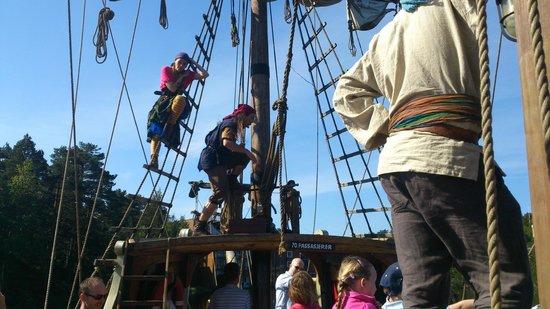 Abra Port: Kaptain Sabeltanns båt