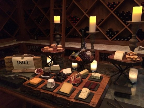 Emirates One&Only Wolgan Valley: Cheese room