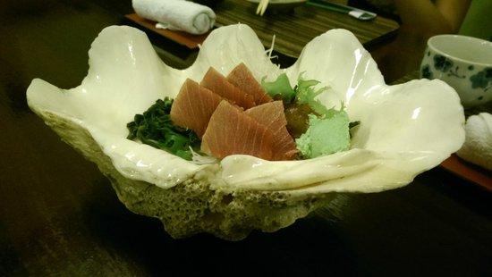 Unkaizan : Blue fin toro shashimi