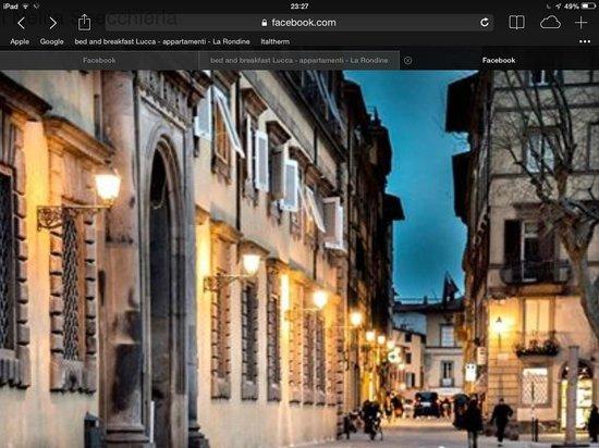 B&B La Rondine : Lucca offerte soggiorni la Rondine casa vacanze