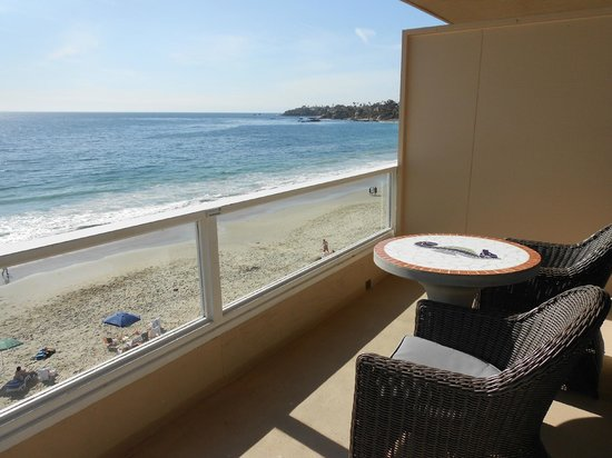 Pacific Edge Hotel on Laguna Beach: Room 702's amazing balcony and view