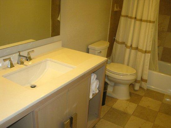 Grand Cayman Marriott Beach Resort: our bathroom