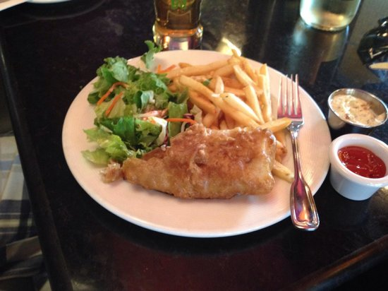 Restaurant Pub Le D'Orsay : Great fish & chips