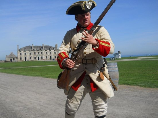 Old Fort Niagara: Canadian Soldier of the period
