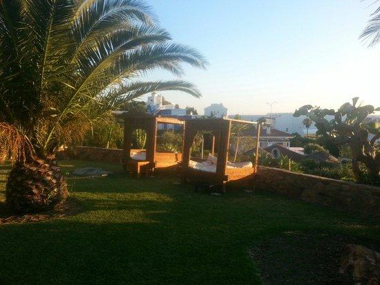 El Cortijo de Zahara: Atardecer en Café del sol