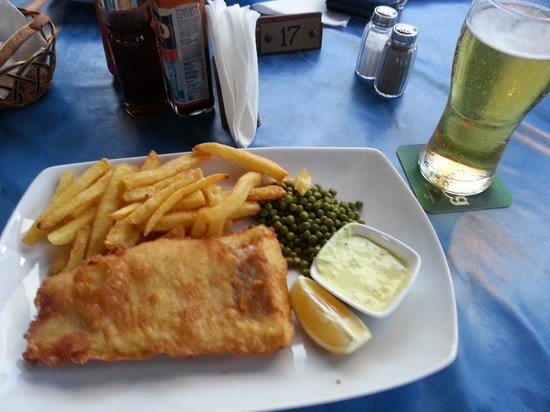 Andreotis: Delicious Food from Restaurant - Fish and Chips