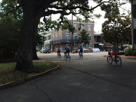 Savannah Bike Tours: Following the pack