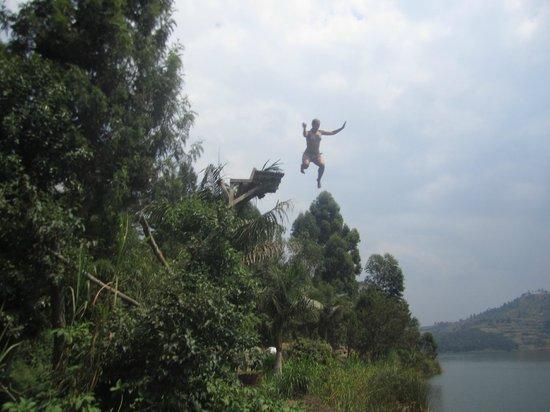 Bunyonyi Overland Resort: Fun at the lake, July 2013