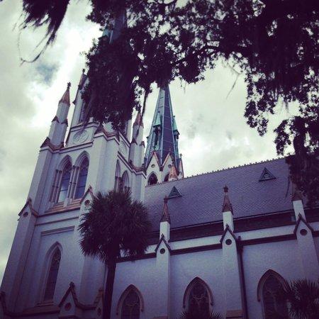 Savannah Bike Tours: Cathedral of St. John the Baptist