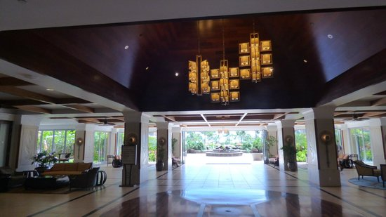 Honua Kai Resort & Spa: Konea reception area