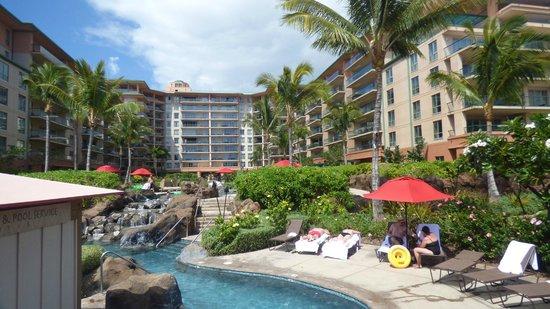 Honua Kai Resort & Spa : Landscape area