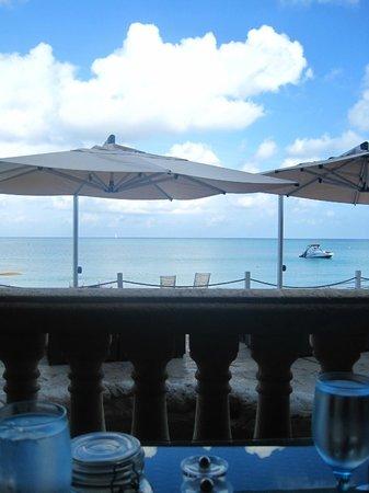 Grand Cayman Marriott Beach Resort: view from the restaurant