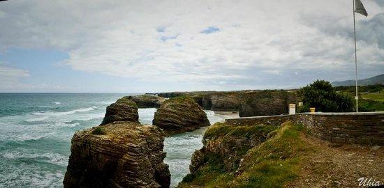Playa de las Catedrales: panoramica desde mirador