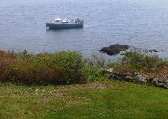 Ship Ahoy Motel: Lobstermen checking their traps
