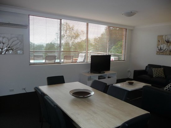 Riverview Apartments: Living Area