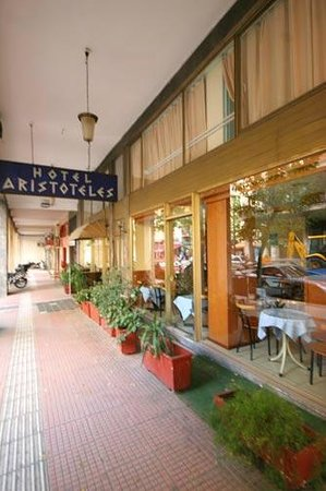Hotel Aristoteles : schoon en goed hotel met fantastisch personeel