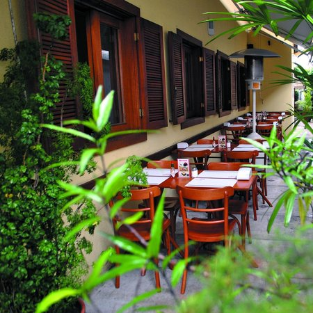 Restaurante Delicacy: Área Externa