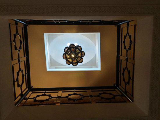 Riad Bouchedor: entrance lobby