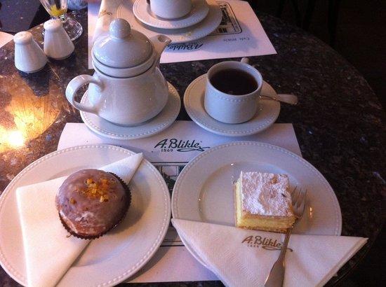A Blikle : Знаменитый пончик и Наполеон
