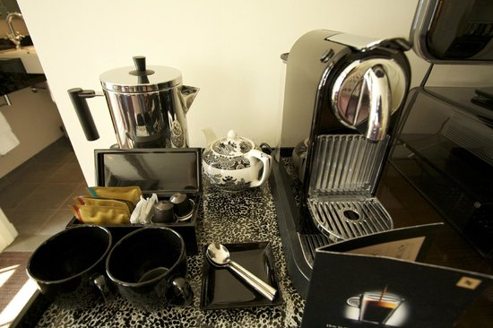 The Arch London: Love the Nespresso machine!