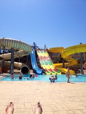 Gouves Park Holiday Resort : the slides were great