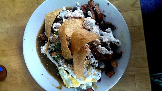 Sunny Point Cafe: Amazing Huevos Rancheros