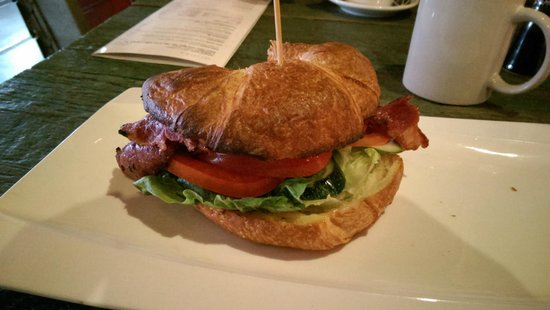 Red Tomato: Croissant with beef bacon...=]
