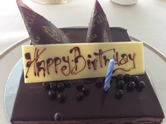 Culinary Flight: Birthday Serenade and cake