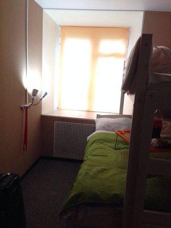 Hotel Mini on Tishinskiy : Жалюзи не поднимаются