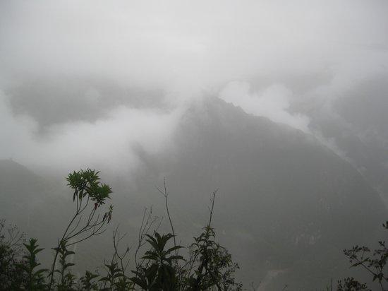Intipuncu: The view in December