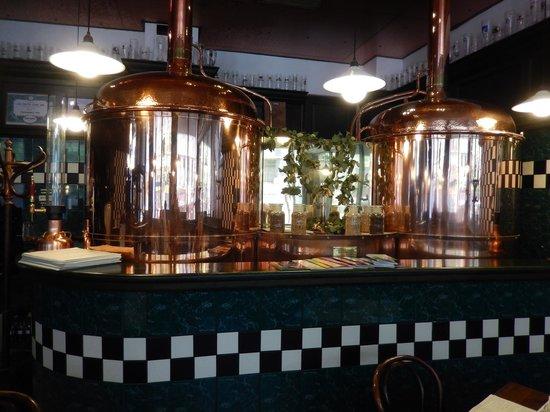 Pivovarsky dum : Interior of the brewery
