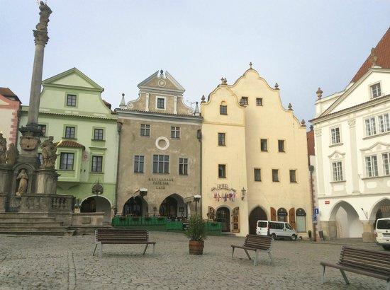 Historic Center of Cesky Krumlov: Old Town Square