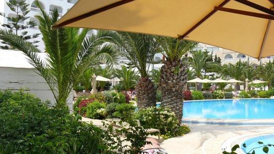 SENTIDO Aziza Beach Golf & Spa: vue de mon transat