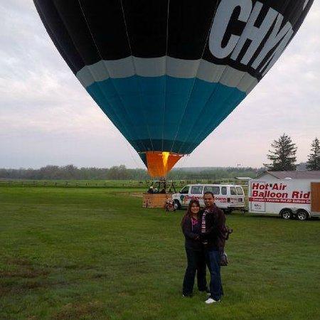 Sundance Balloons: Before the flight!