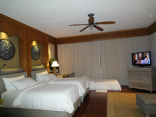 Four Seasons Resort Langkawi, Malaysia : Our luxurious room